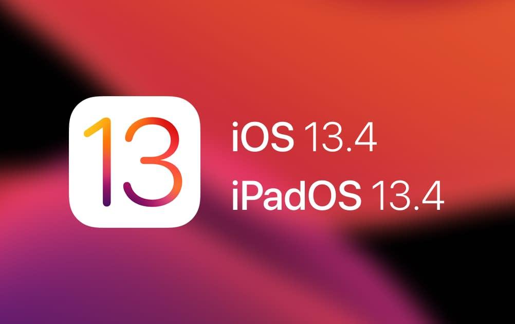 iOS 13.4 und iPadOS 13.4 veröffentlicht