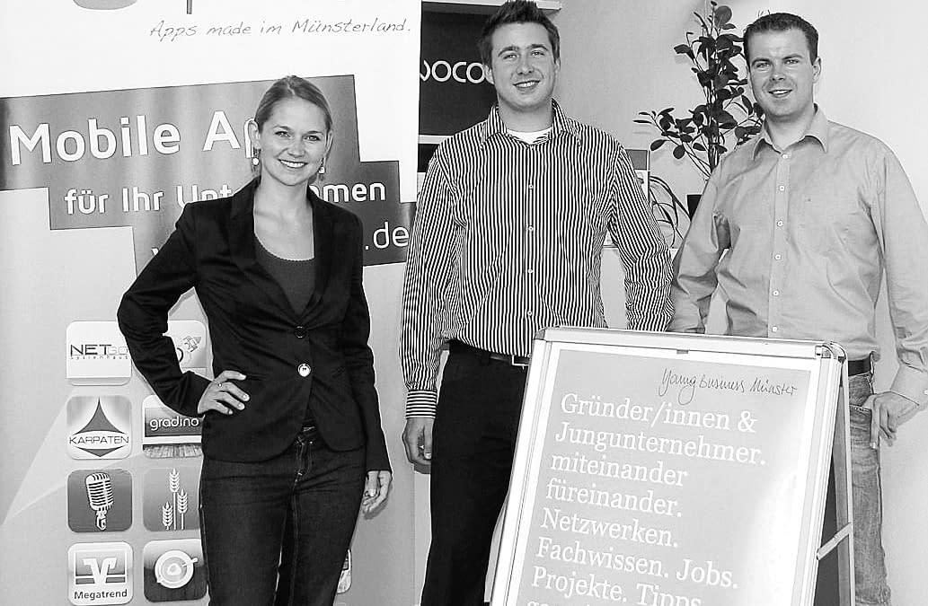Young Business Münster zu Gast bei opwoco