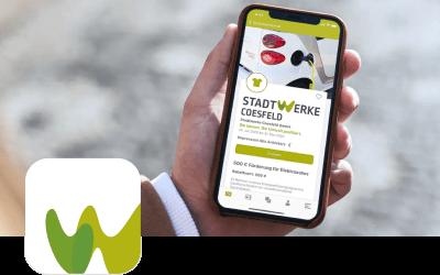 Stadtwerke Westmünsterland – Gutschein App